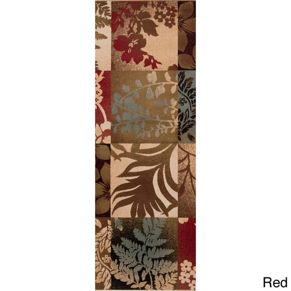 Woven Giselle Floral Area Rug - 3' x 8'