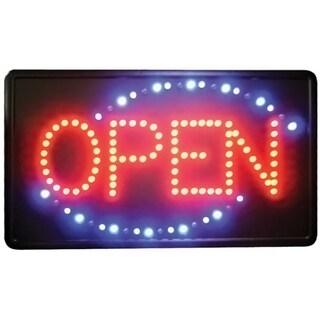 Winco 'Open' Flashing LED Sign
