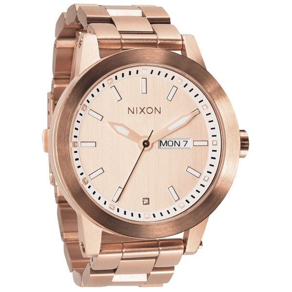 nixon men s spur all rose gold watch shipping today nixon men s spur all rose gold watch