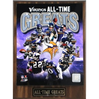 Minnesota Viking 'All Time Greats' Plaque