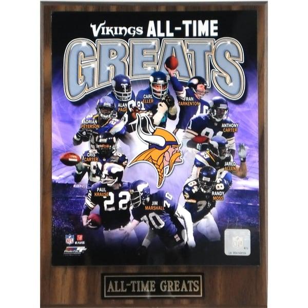 Minnesota Viking 'All Time Greats' Plaque