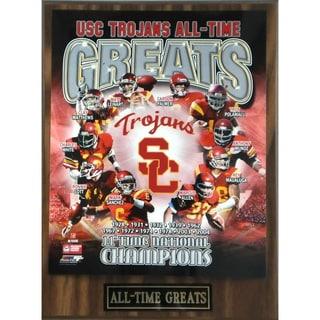 USC Trojans 'All Time Greats' Plaque