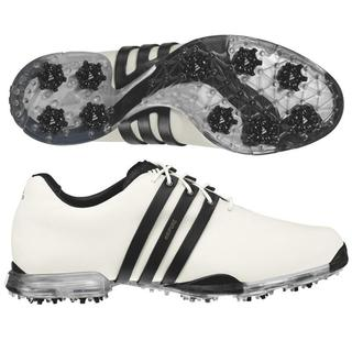 Adidas Men\u0027s Adipure White/ Black Golf Shoes