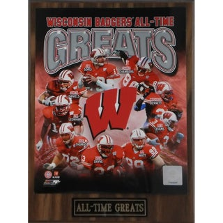 Wisconsin Badgers 'All Time Greats' Plaque