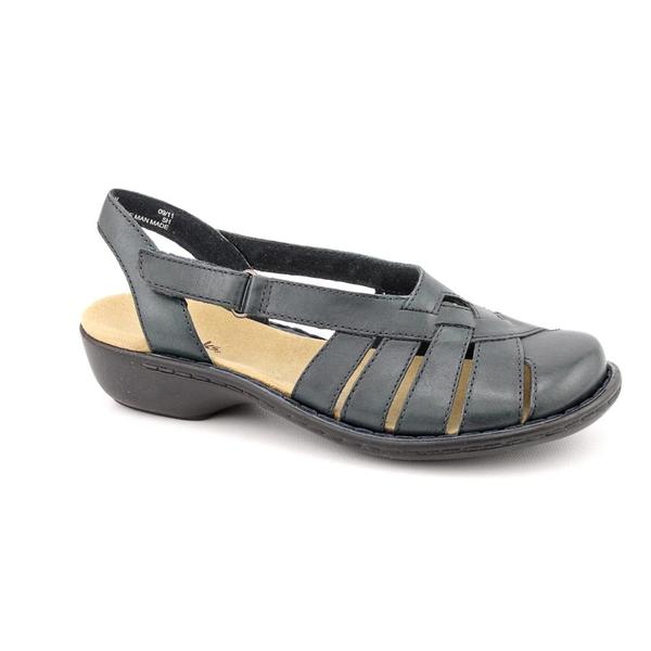 0f71766f77a Shop Clarks Women s  Ina Classy  Leather Sandals - Wide - Free ...