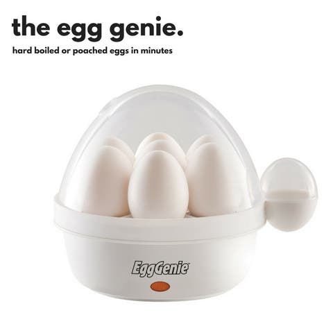 Big Boss Egg Genie Electric Egg Cooker and Steamer