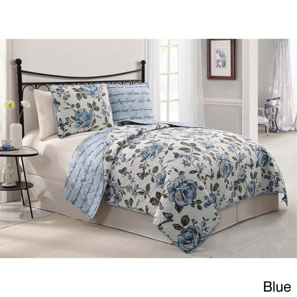 VCNY Bella 3-piece Quilt Set