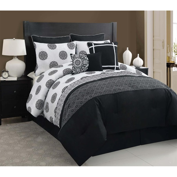 VCNY Isabella 8-piece Comforter Set