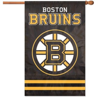Bruins Applique Banner Flag