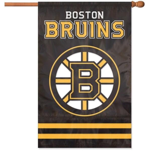 Bruins Applique Banner Flag