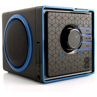GOgroove SonaVERSE GG-SONAVERSE-BX Speaker System - 6 W RMS - Battery|https://ak1.ostkcdn.com/images/products/8003791/P15369395.jpg?_ostk_perf_=percv&impolicy=medium
