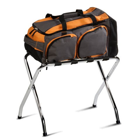 Honey-Can-Do Chrome Luggage Rack
