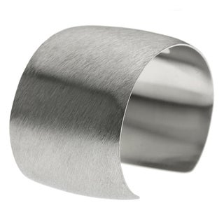 Satin Stainless Steel 40 mm Cuff Bangle