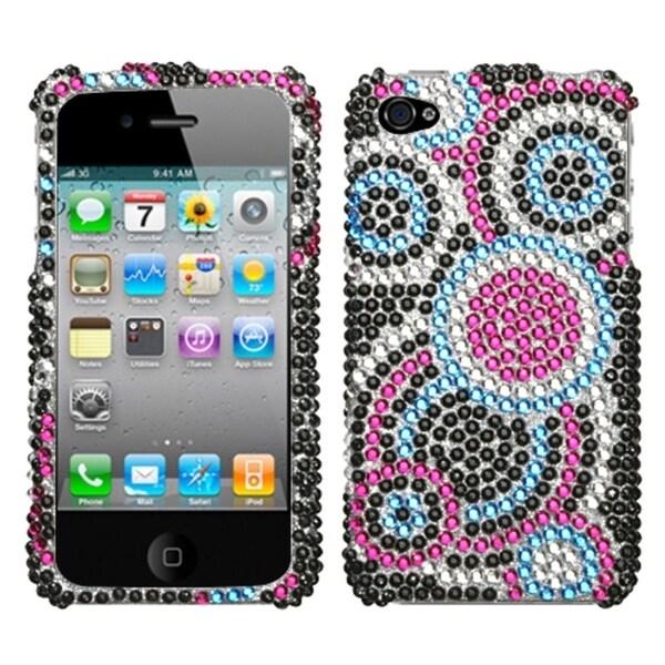 INSTEN Bubble Diamante Phone Case Cover for Apple iPhone 4/ 4S