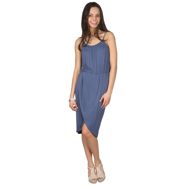 Journee Collection Juniors Spaghetti Strap Scoop Neck Dress