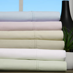600 Thread Count Solid Cotton Blend Sheet Set