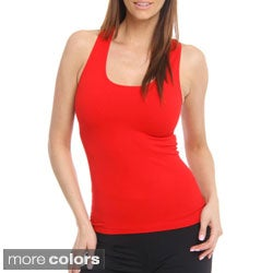 24/7 Frenzy Women's Seamless Racer Back Tank Top