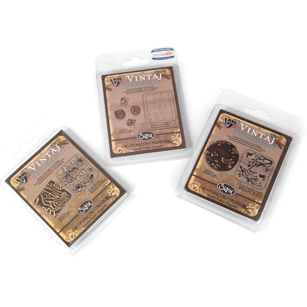 Sizzix DecoEtch/ DecoEmboss Vintaj Value Kit #9