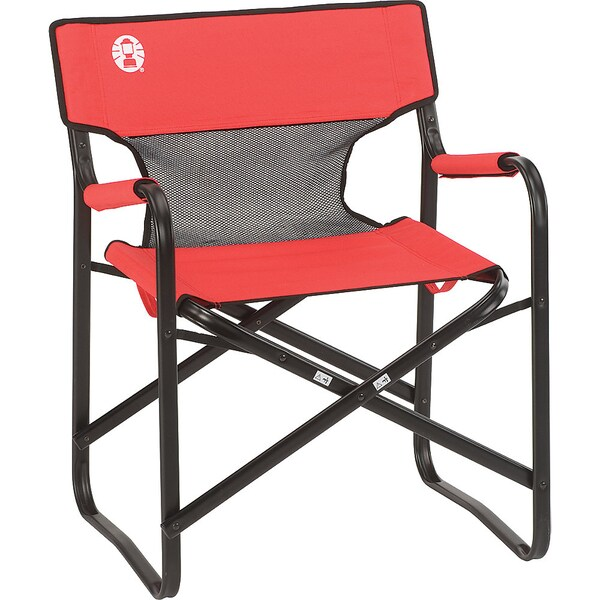 Coleman Steel Deck Mesh Chair