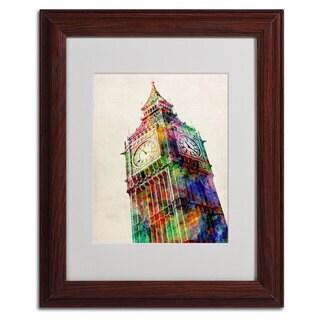 Michael Tompsett 'Big Ben' Framed Mattted Art