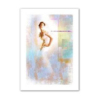Greg Simanson 'Diva I' Unwrapped Canvas