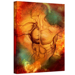 Greg Simanson 'Birthright IV' Gallery-Wrapped Canvas
