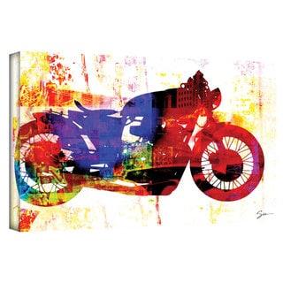 Greg Simanson 'Moto III' Gallery-Wrapped Canvas