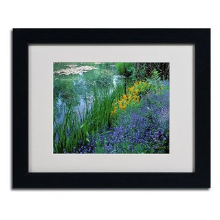 Kathy Yates 'Monet's Lily Pond' Framed Mattted Wall Art