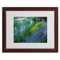 Kathy Yates 'Monet's Lily Pond' Framed Mattted Art