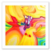 Susi Franco 'Secret Life of Lily' Unwrapped Canvas