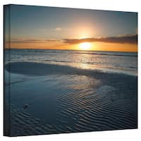 Steven Ainsworth 'Sanibel Sunrise II' Gallery-Wrapped Canvas - Multi