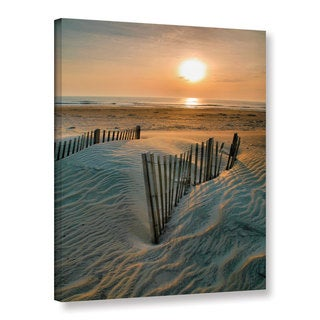 steven ainsworth sunrise over hatteras gallery wrapped canvas