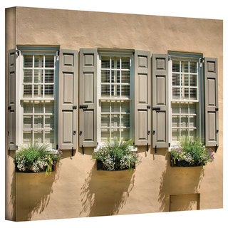 Steven Ainsworth 'Windows of Old Charleston' Gallery-Wrapped Canvas