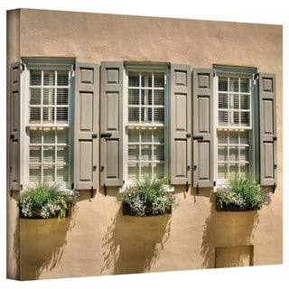 steven ainsworth windows of old charleston gallery wrapped canvas