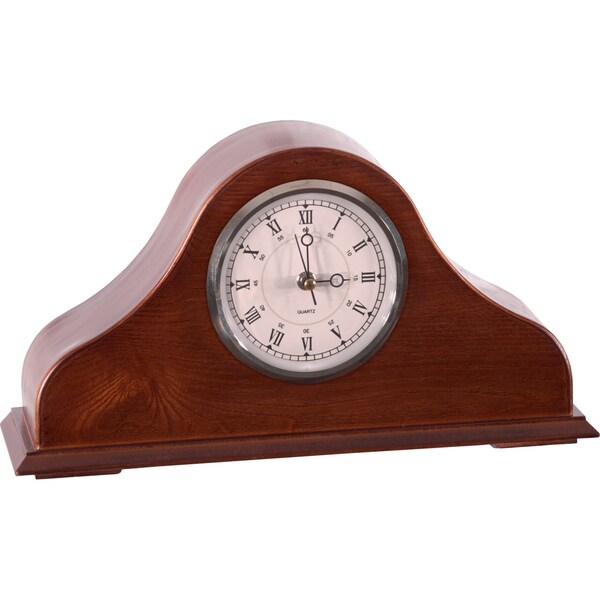 American Furniture Classics Remington Mantel Clock with Concealed