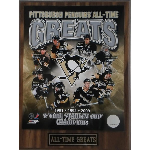 Pittsburgh Penguins 'All Time Greats' Plaque