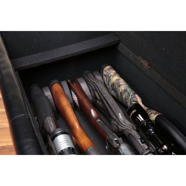 Remarkable Shop Gun Concealment Bench Free Shipping Today Overstock Andrewgaddart Wooden Chair Designs For Living Room Andrewgaddartcom