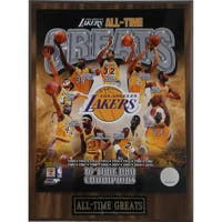 Los Angeles Lakers 'All Time Greats' Plaque