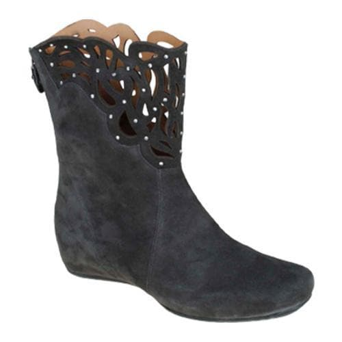 Women's Earthies Raaka Dark Grey Kid Suede