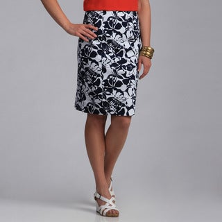 Amelia Women's Printed Pencil Skirt