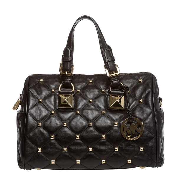 1bcce8a2b812 MICHAEL Michael Kors Medium   x27 Grayson  x27  Quilted and Studded Satchel