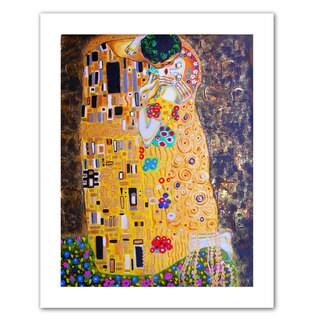 Susi Franco 'My Klimt Kiss' Unwrapped Canvas