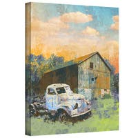 Greg Simanson 'Abandoned' Gallery-Wrapped Canvas
