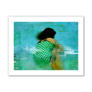Greg Simanson 'Floating Away' Unwrapped Canvas (2 options available)