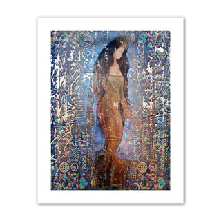 Greg Simanson 'Stained Interlude' Unwrapped Canvas - Multi