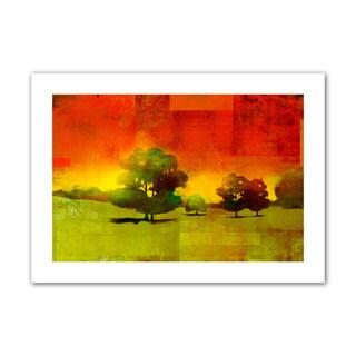 Greg Simanson 'Tree Study' Unwrapped Canvas