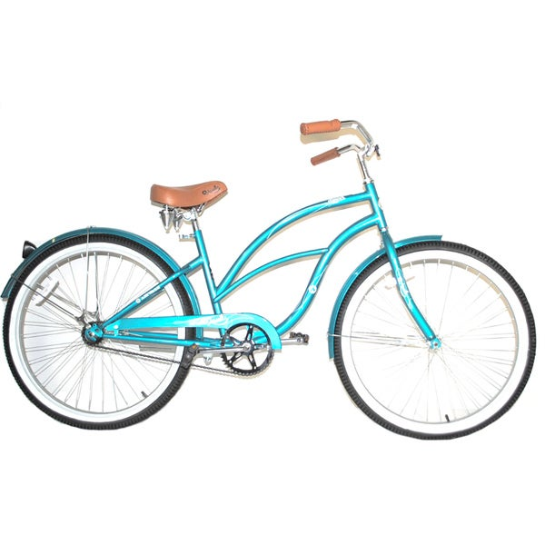Airwalk 26 Inch Clipper Cruiser Bicycle Teal