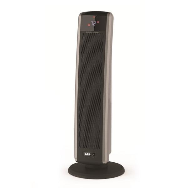 Lasko Digital Ceramic Tower Heater With Remote Control Lasko 5586 Digital Ceramic Tower Heater with Electronic ...