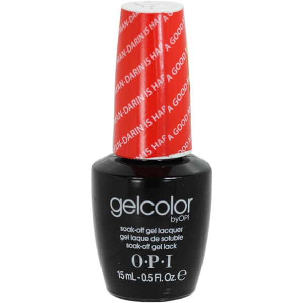 OPI Gelcolor 'A Good Man-Darin Is Hard To Find' Soak-Off Gel Nail Lacquer