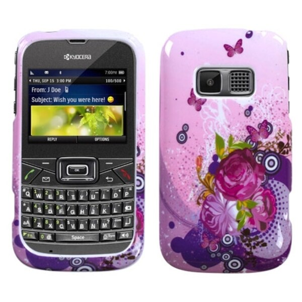 BasAcc Wonderful Flowers Phone Protector Case for Kyocera S3015 Brio